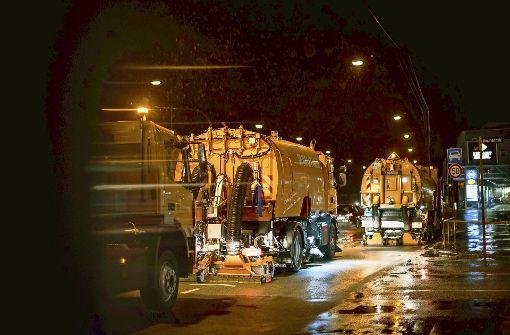 Stadt will am Neckartor wieder nass rauswischen