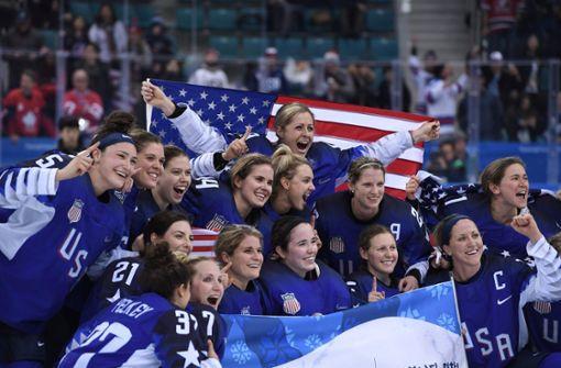 US-Eishockey-Frauen entthronen Kanada