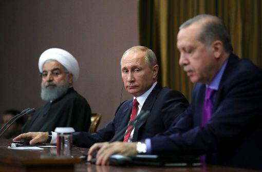 Über Syriens Zukunft  wird in Sotschi entschieden