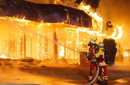 Polizei schließt  Brandstiftung aus