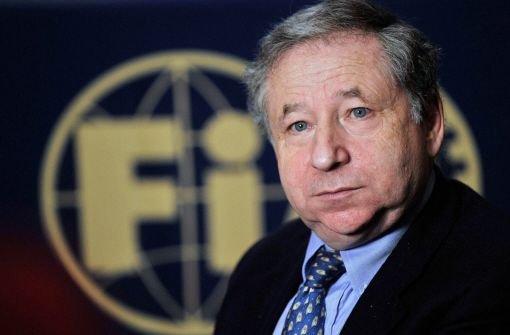 Weitere vier Jahre für FIA-Chef