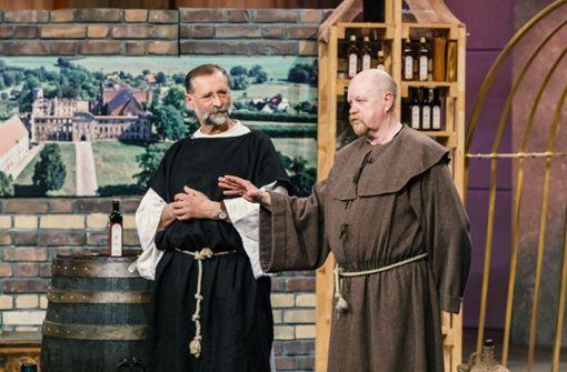 Warum zwei Mönche eine Gründershow besuchen