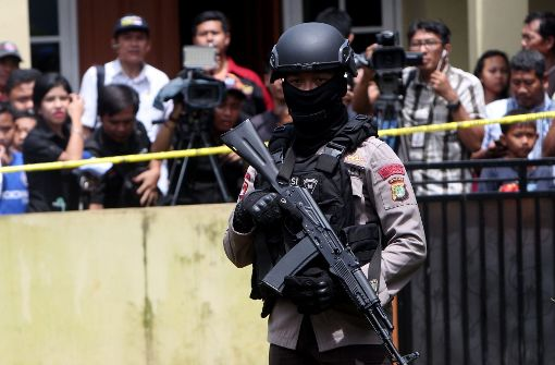 Polizei tötet drei mutmaßliche Terroristen