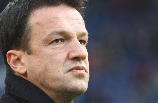 Sportdirektor Fredi Bobic betonte nach dem Spiel gegen Köln, dass der Verein definitiv keinen neuen Innenverteidiger holen werde. Foto: Pressefoto Baumann