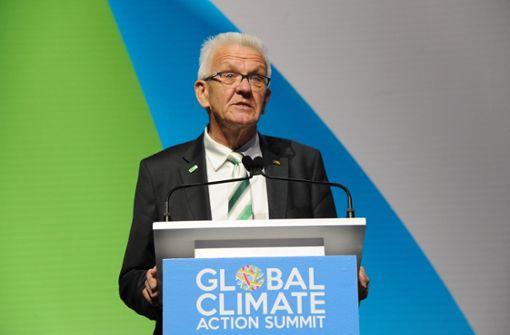 Kretschmann schmiedet Klima-Bündnisse gegen Trump