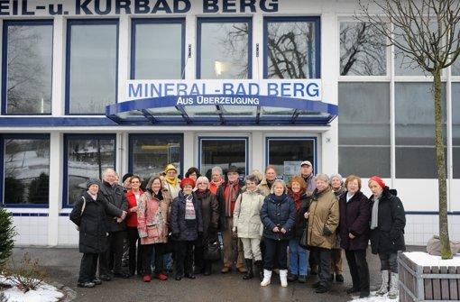 Rentneraufstand im Mineralbad Berg