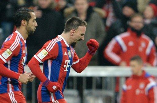 Ribéry lässt die Bayern jubeln