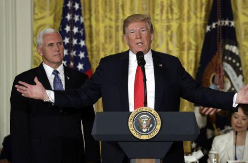 Präsident Trump ordnet Schaffung von Weltraumarmee an