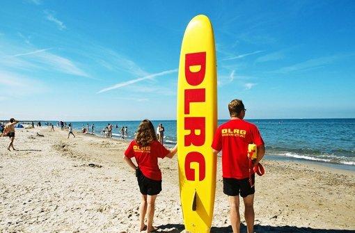 DLRG rettet Leben in der Ostsee