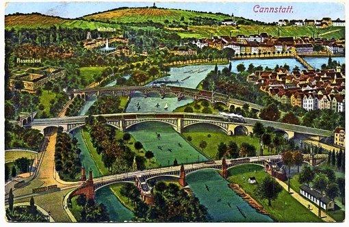 Schwimmendes Treiben auf dem Neckar