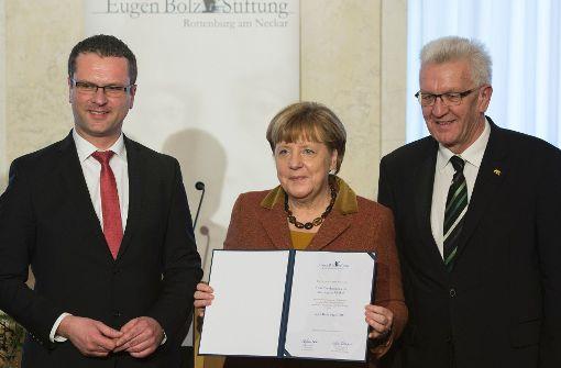 Merkel soll Kurs halten