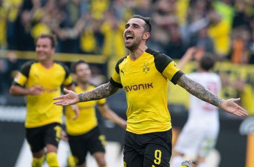 BVB will Kaufoption bei Paco Alcácer ziehen