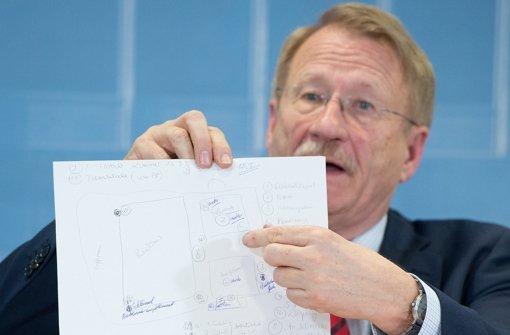 Wolfgang Drexler, der Vorsitzende des Landtags-Untersuchungsausschuss, hält die in Heilbronn getötete Polizistin Kiesewetter für ein zufälliges Opfer der NSU. (Archivfoto) Foto: dpa