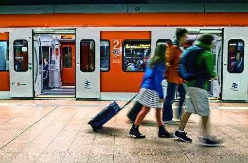 Soll ab Ende 2020 tagsüber im 15-Minuten-Takt fahren: die S-Bahn in der Region Stuttgart. Foto: Lichtgut/Max Kovalenko