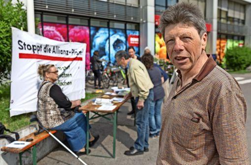 Initiative macht erneut gegen Allianz mobil