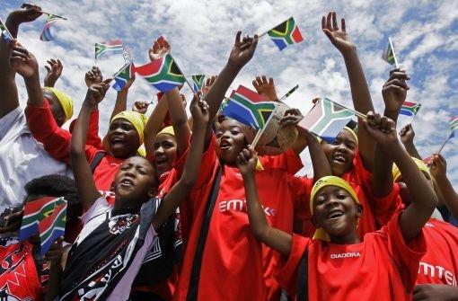 Südafrika kämpft gegen die Hysterie