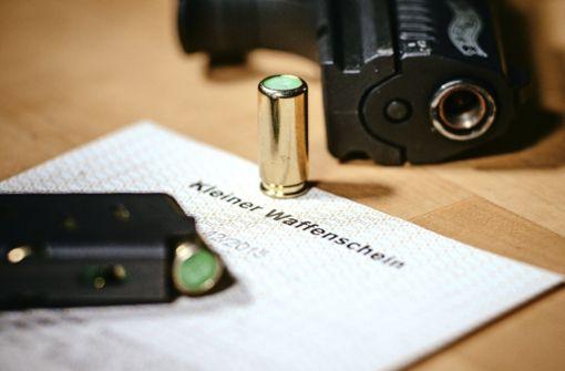 164 kleine Waffenscheine beantragt