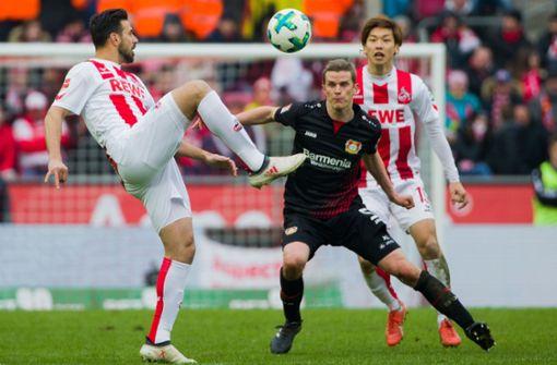 Köln nach Sieg gegen Leverkusen nicht mehr Schlusslicht