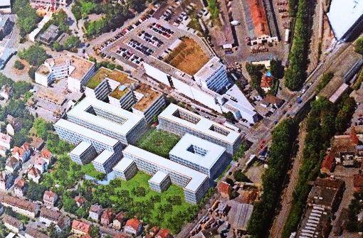 Dem  Fritz-Campus fehlt noch ein Grundstück