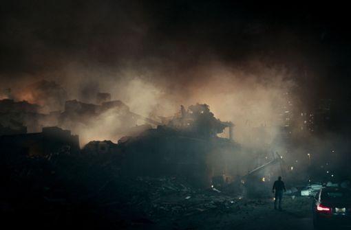 """Die Erde ist in """"The Cloverfield Paradox"""" in keinem guten Zustand mehr. Foto: Scott Garfield/Netflix"""