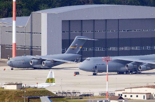 US-Luftwaffenbasis im rheinland-pfälzischen Ramstein Foto: dpa