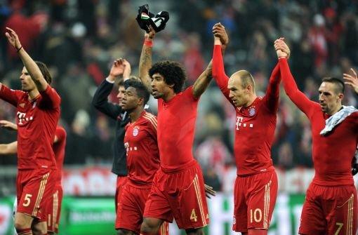 Souveräne Bayern auf Halbfinal-Kurs
