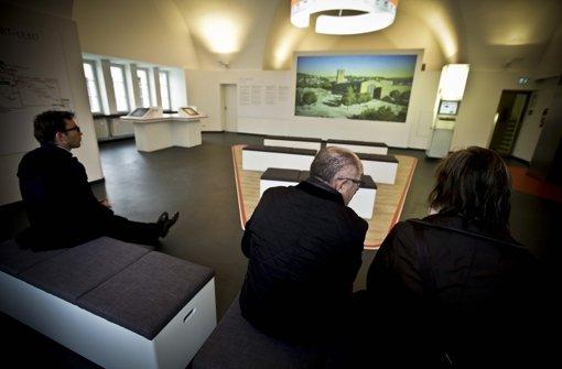 Das Geld für den Verein Turmforum für die neu gestaltete S-21-Ausstellung fließt nicht. Foto: Leif Piechowski