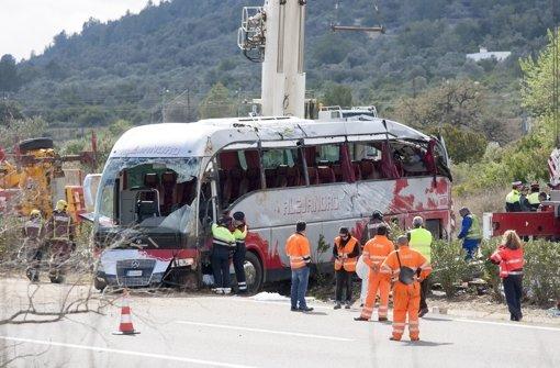 Bei dem Busunglück sind 13 Menschen ums Leben gekommen. Foto: Getty