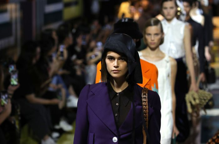 Fashion Week in Mailand: Prada kultiviert die Eleganz
