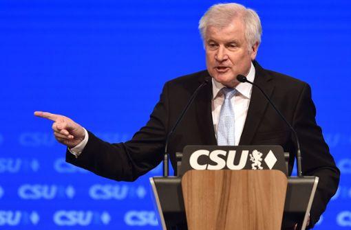 Horst Seehofer rechnet nicht mit Bruch der Koalition