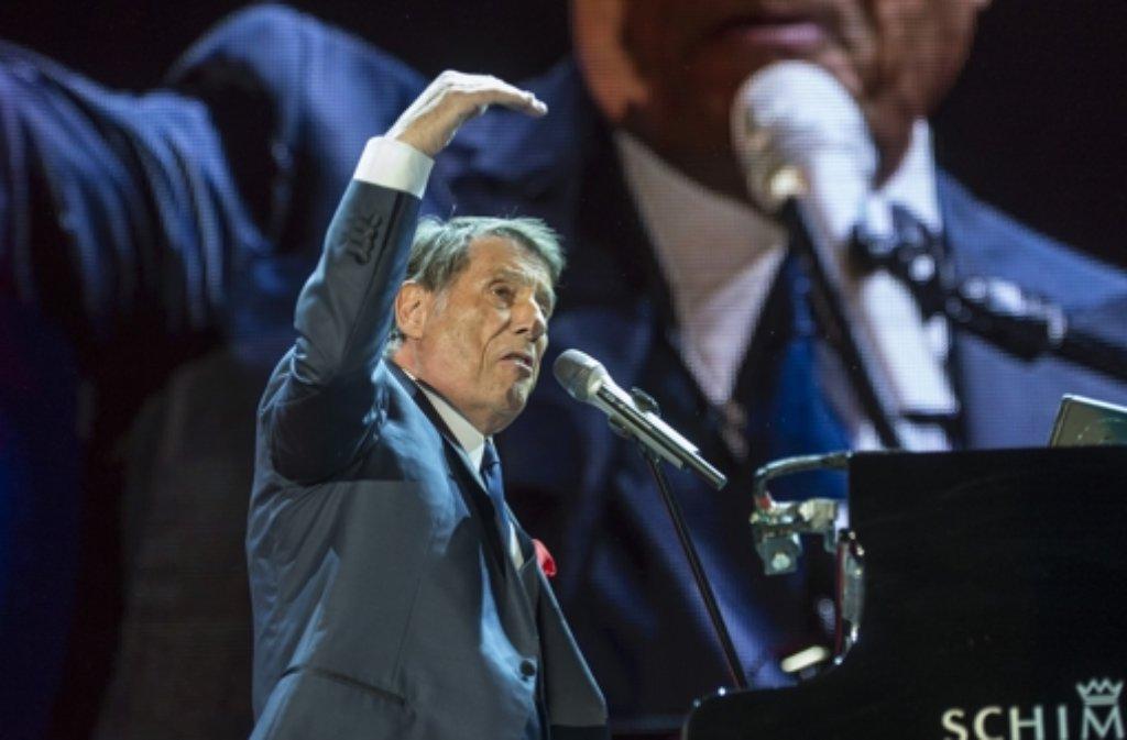 Der 80 Jährige Entertainer Udo Jürgens Hat Am 31 Oktober 2014 Das