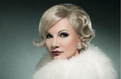 Chris Kolonko als Marlene Dietrich Foto: Veranstalter