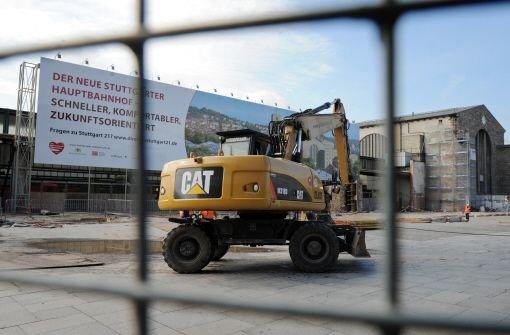 Die Bahn muss bei den Bauarbeiten für Stuttgart 21 Kosten sparen. Foto: dpa