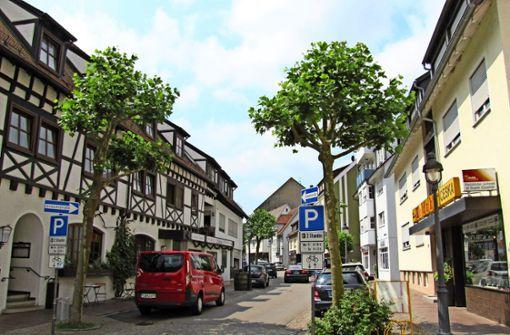 Für Laufkundschaft hat die Straße Auf dem Graben im Waldenbucher Altstadtkern nicht mehr viel zu bieten. Foto: Claudia Barner