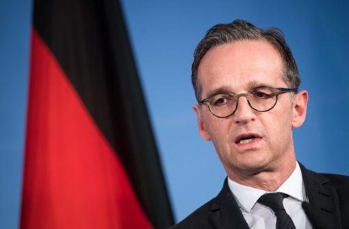 Maas will aktuell keine Rüstungsexporte nach Saudi-Arabien