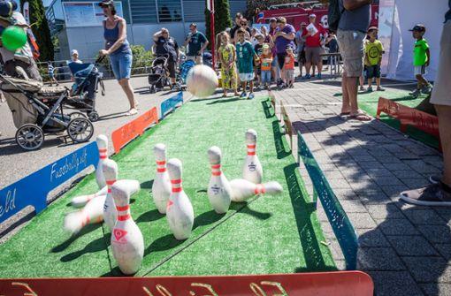 ...jede Menge Spielgelegenheiten gegeben. Foto: Lichtgut/Julian Rettig