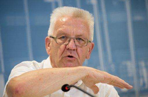 Grün-Rot nimmt Kretschmann in Schutz