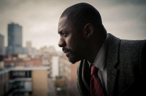 """Das bisherige Meisterstück: Für die Hauptrolle in der Fernsehserie """"Luther"""" erhielt Idris Elba 2012 den Golden Globe, und zwar völlig zurecht. Foto: BBC"""