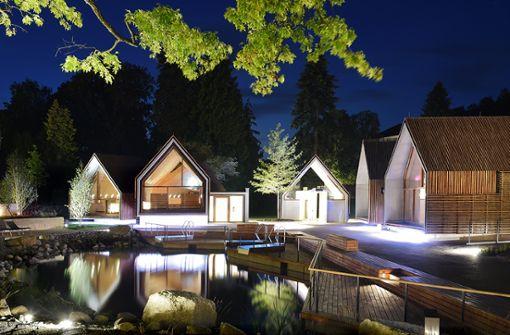 9.000 m² Thermen- und Saunaland  Foto: Parkhotel Jordanbad