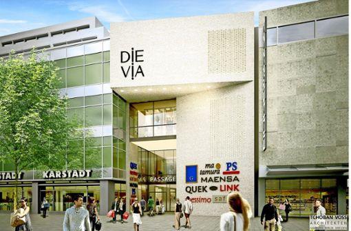"""Einkaufspassage """"Die Via"""" verzögert sich weiter"""