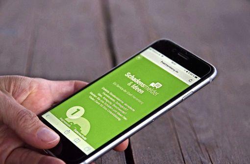 Bürger können sich per App beschweren
