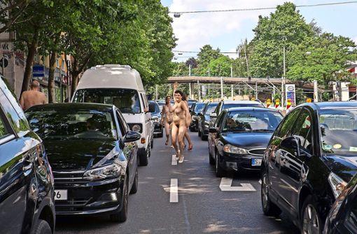 In Stuttgart sind wieder die Nackten los