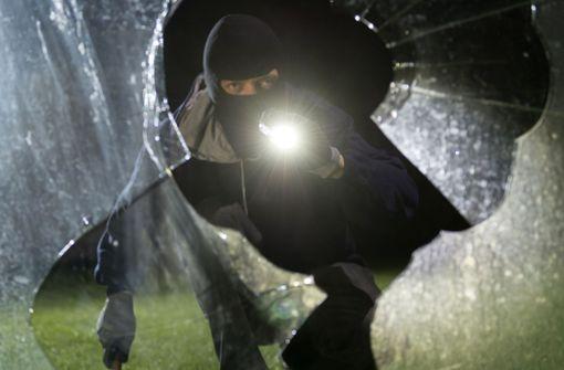 So weit wie der Einbrecher auf diesem Symbolbild kam der Mann in Oberstenfeld gar nicht. Foto: dpa