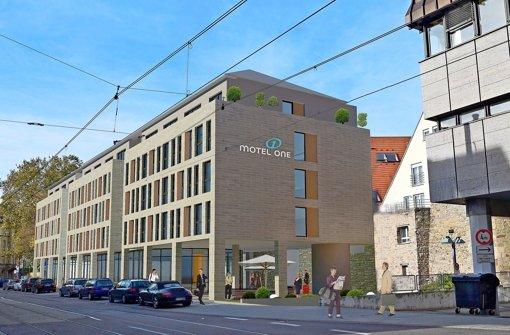 Auch Bad Cannstatt erhält ein Motel One