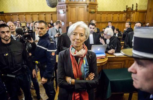 Lagarde ist schuldig, bleibt aber straffrei