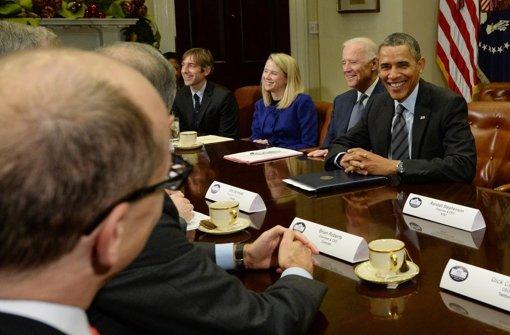 Obama spricht mit Managern über NSA