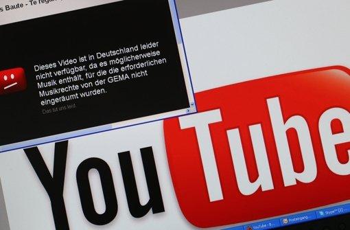 YouTube darf nicht mehr auf Gema verweisen