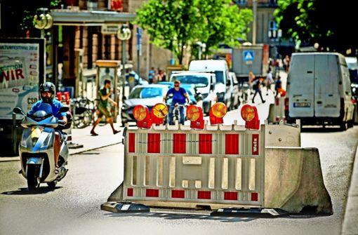 Die Provisorien an der Bolzstraße sollen bald der Vergangenheit angehören. Foto: Lichtgut/Leif Piechowski