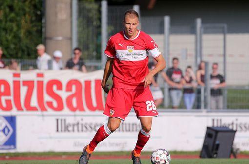 Holger Badstuber gibt in der Abwehr den Ton an. Foto: Pressefoto Baumann