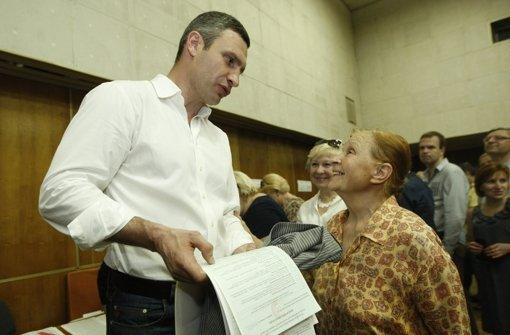 Klitschko wohl neuer Bürgermeister